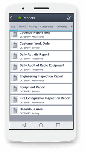 Standardize Security Officer Duties and Responsibilities. with digital reports